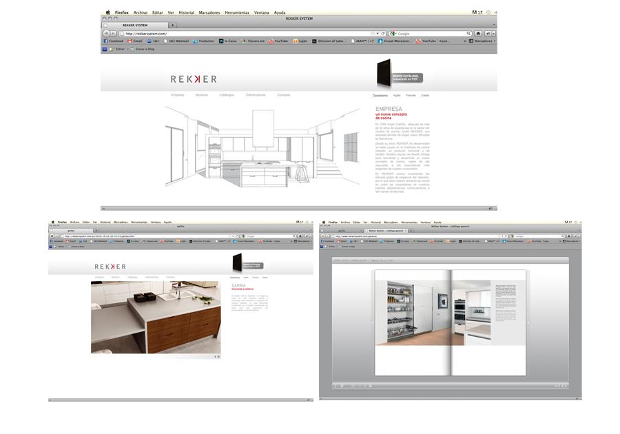Rekker system-web-site