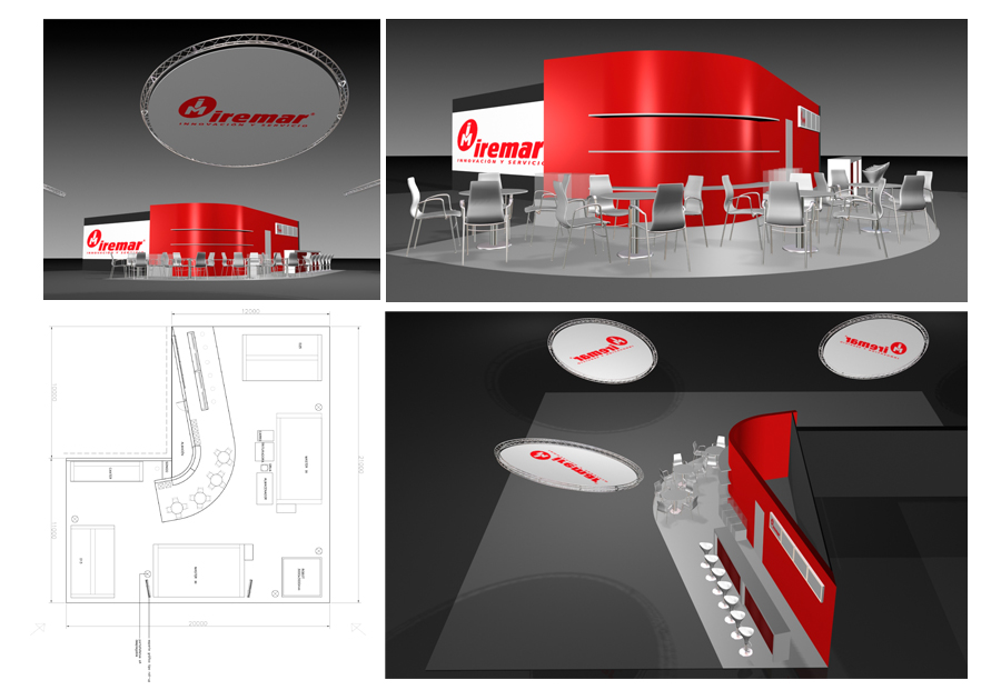 Iremar stand-3D