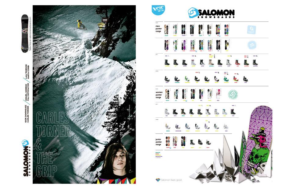 Salomon winter catálogo