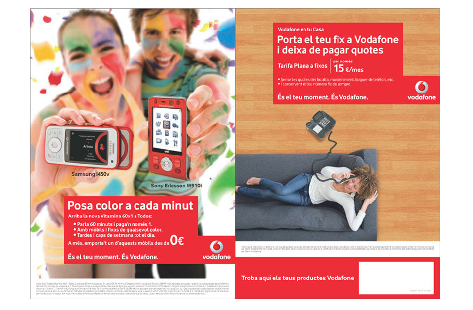 Vodafone flyer